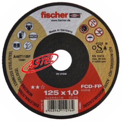 Tarcza do cięcia 125x1,0 firmy Fischer