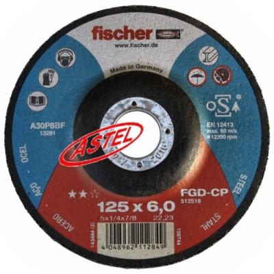 Tarcza do szlifowania 125x6,0 firmy Fischer