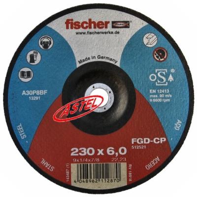 Tarcza do szlifowania 230x6,0 firmy Fischer